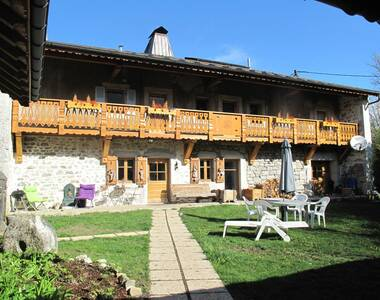 Vente Maison 9 pièces 243m² Onnion (74490) - photo