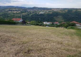 Vente Terrain 854m² Chagnon (42800) - photo