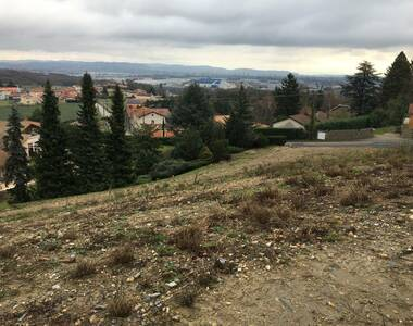 Vente Terrain 825m² Saint-Laurent-de-Mure (69720) - photo