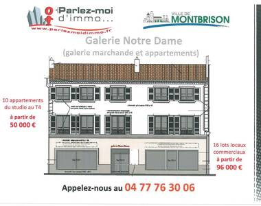 Vente Local commercial 1 pièce 36m² Montbrison (42600) - photo