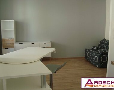 Location Appartement 1 pièce 28m² Privas (07000) - photo