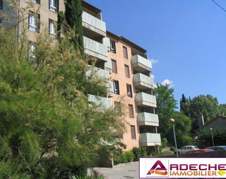 Location Appartement 1 pièce 30m² Privas (07000) - photo