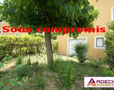 Vente Appartement 1 pièce 30m² Privas (07000) - photo