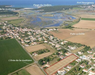Sale Land 644m² talmont st hilaire - photo