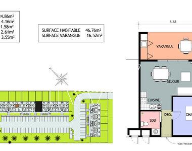 Vente Appartement 2 pièces 47m² REMIRE MONTJOLY - photo