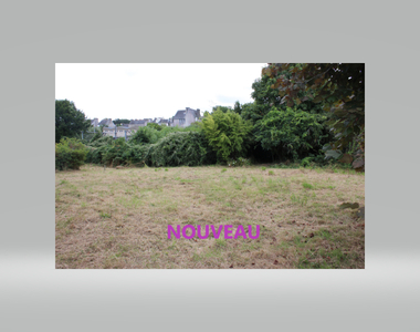 Vente Terrain 670m² ROSPORDEN - photo