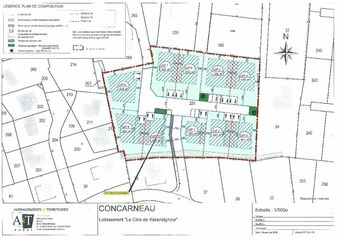Vente Terrain 472m² CONCARNEAU - photo