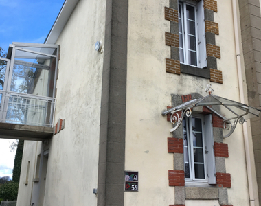 Location Appartement 1 pièce 30m² Quimperlé (29300) - photo