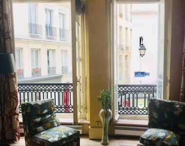 Vente Appartement 2 pièces 36m² Paris 03 (75003) - photo