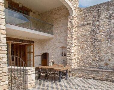 Vente Maison / Propriété 7 pièces 400m² Laval-Saint-Roman (30760) - photo