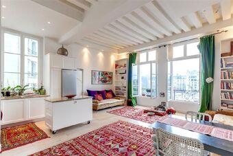 Vente Appartement 2 pièces 61m² Paris 04 (75004) - photo