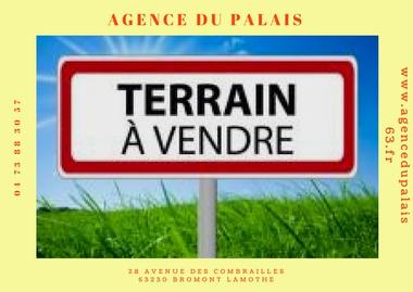 Vente Terrain 3 565m² Saint-Pierre-le-Chastel (63230) - photo