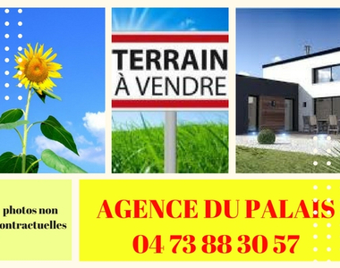 Vente Terrain 1 000m² Bromont-Lamothe (63230) - photo