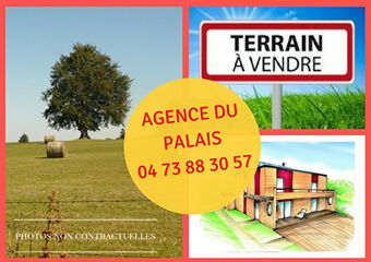 Vente Terrain 1 500m² La Goutelle (63230) - photo