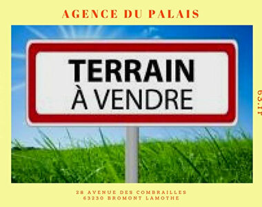 Vente Terrain 1 200m² Saint-Pierre-Roche (63210) - photo
