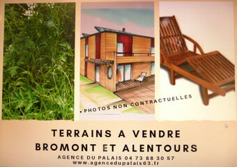 Vente Terrain 1 600m² BROMONT LAMOTHE - photo