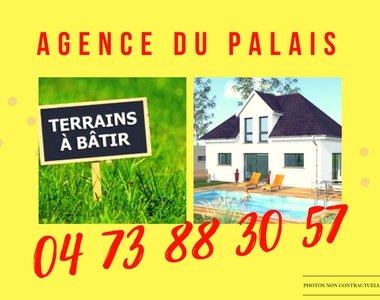 Vente Terrain 1 000m² BROMONT LAMOTHE - photo