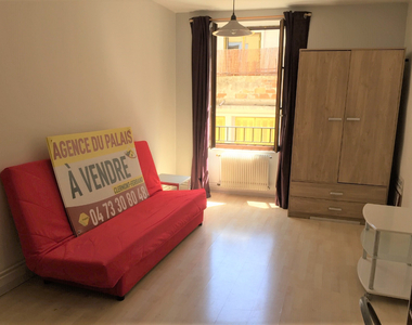 Vente Appartement 1 pièce 28m² CLERMONT FERRAND - photo