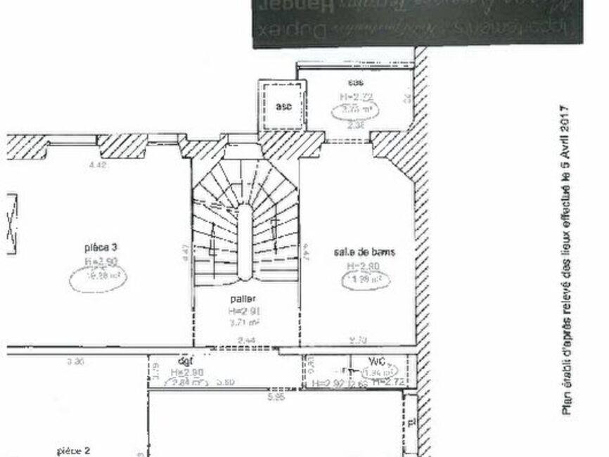 vente appartement 3 pi ces angers 257286. Black Bedroom Furniture Sets. Home Design Ideas