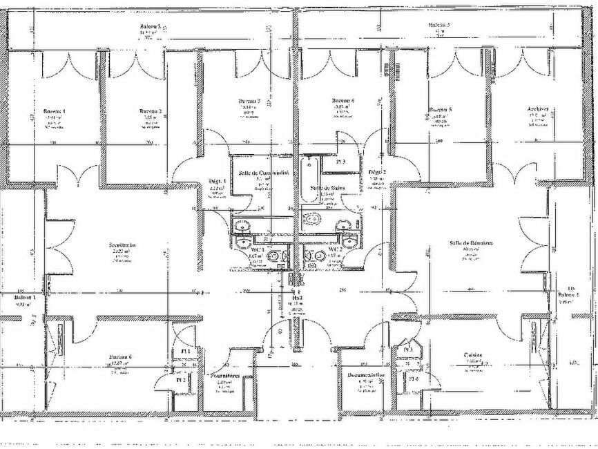 plan appartement 7 pieces