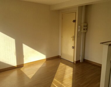 Renting Apartment 2 rooms 27m² Clermont-Ferrand (63000) - photo