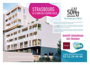 Vente Appartement 2 pièces 42m² Strasbourg (67000) - photo