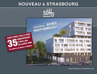 Vente Appartement 2 pièces 44m² Strasbourg (67000) - photo