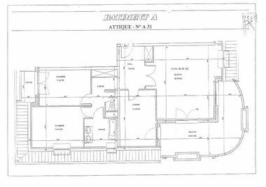 Vente Appartement 3 pièces 86m² Illkirch-Graffenstaden (67400) - photo