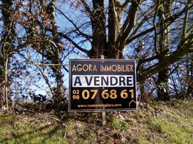Vente Terrain 448m² Le Folgoët (29260) - photo