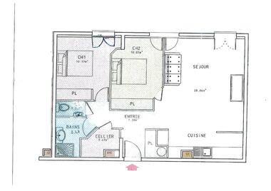 Location Appartement 3 pièces 63m² Sainte-Geneviève-des-Bois (91700) - photo