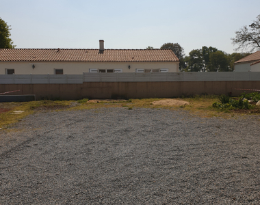 Vente Terrain 380m² port saint pere - photo