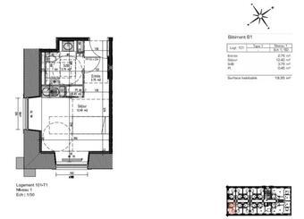 Sale Apartment 1 room 19m² Metz (57000) - photo