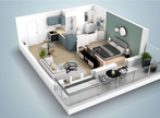 Sale Apartment 2 rooms 38m² THIONVILLE - Photo 2