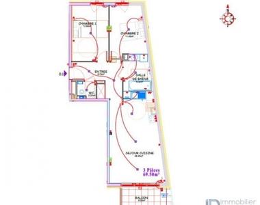 Vente Appartement 3 pièces 70m² Metz - photo