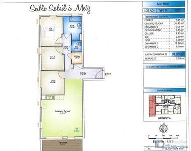 Vente Appartement 4 pièces 92m² Metz - photo