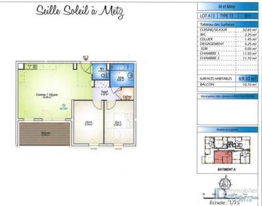 Vente Appartement 3 pièces 69m² Metz (57070) - photo