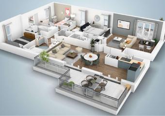 Sale Apartment 6 rooms 155m² THIONVILLE - Photo 1