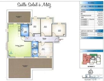 Vente Appartement 5 pièces 100m² Metz (57070) - photo
