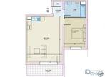 Vente Appartement 2 pièces 50m² Mondelange - Photo 5