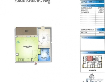 Vente Appartement 2 pièces 46m² Metz (57070) - Photo 1