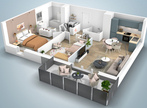 Vente Appartement 3 pièces 65m² THIONVILLE - Photo 1