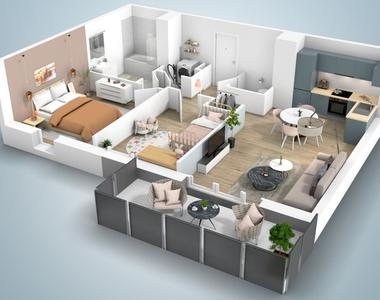 Sale Apartment 3 rooms 65m² THIONVILLE - photo