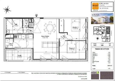 Location Appartement 3 pièces 68m² La Roche-sur-Yon (85000) - photo