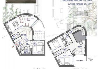 Vente Appartement 4 pièces 113m² Perpignan - Photo 1