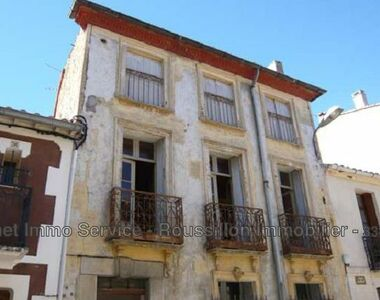 Sale House 5 rooms 107m² Oms (66400) - photo