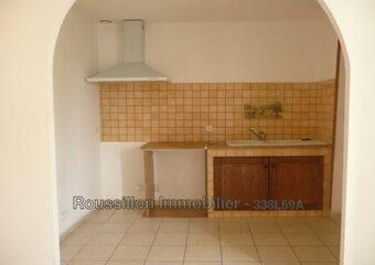 Renting Apartment 2 rooms 45m² Sorède (66690) - photo