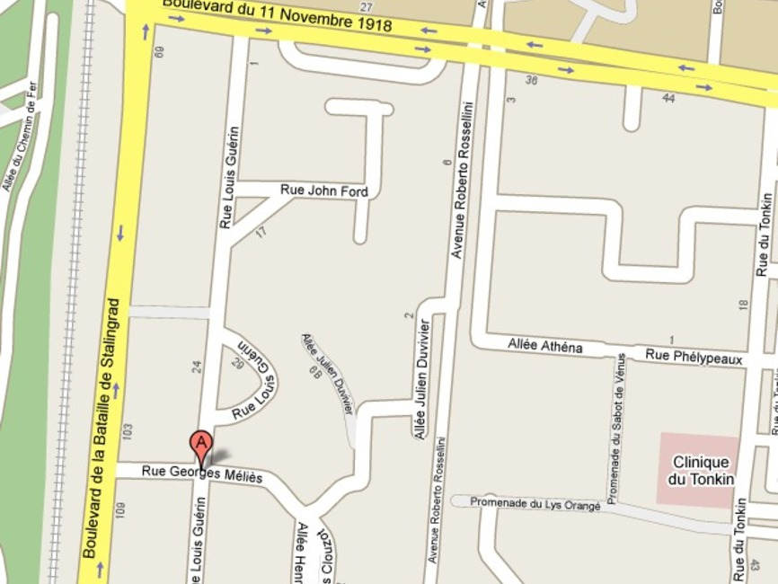Location garage villeurbanne 69100 99397 for Garage a villeurbanne
