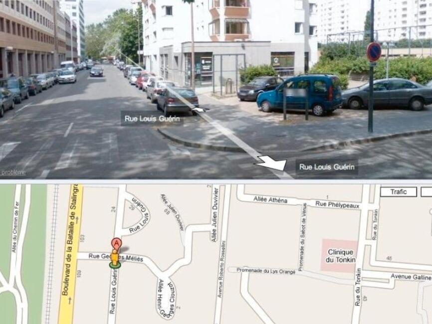 Location garage villeurbanne 69100 165530 for Garage a villeurbanne