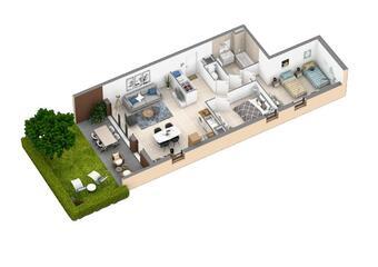 Vente Appartement 3 pièces 66m² SIX FOURS LES PLAGES - Photo 1
