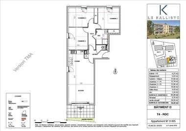 Vente Appartement 4 pièces 83m² Sanary-sur-Mer (83110) - photo